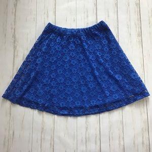 Abercrombie Lace Skater Skirt